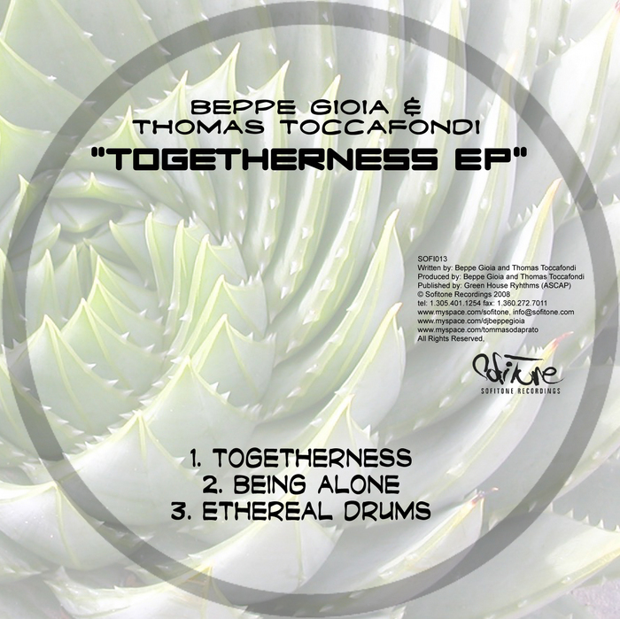GIOIA, Beppe/THOMAS TOCCAFONDI - Togetherness EP