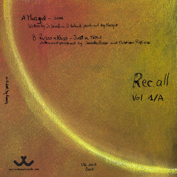 MARGOT/RUSSO/KRISS/LIMO/MASTER T - Rec All Vol 1 Part 1