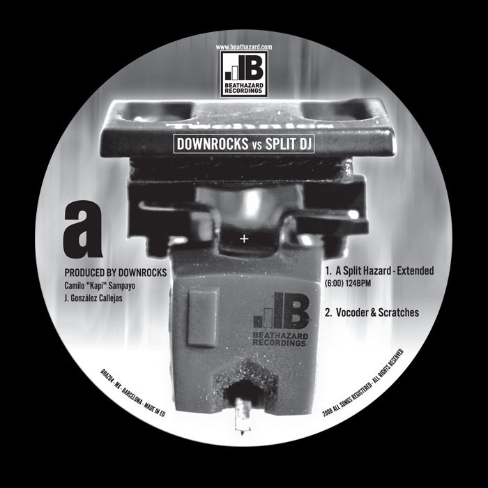 DOWNROCKS vs SPLIT DJ - A Split Hazard (remixes)