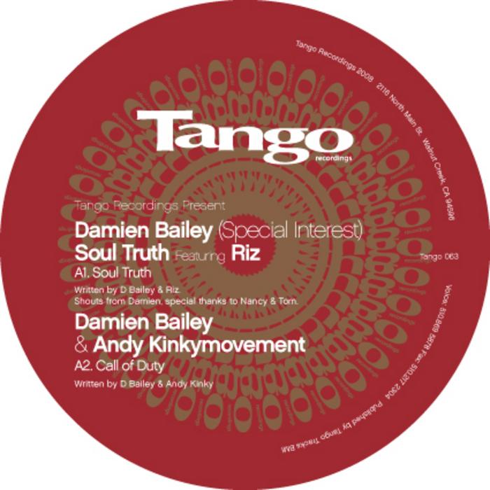 BAILEY, Damian feat RIZ - Soul Truth