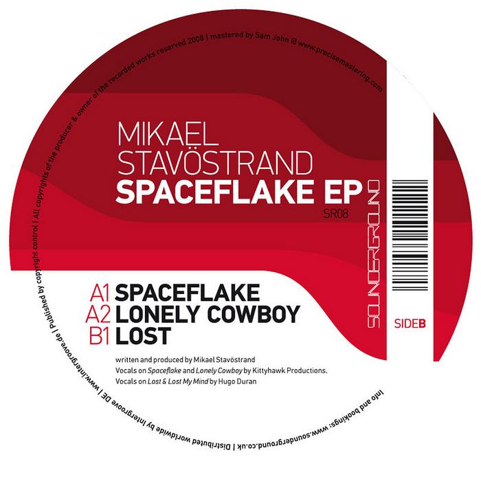 STAVOSTRAND, Mikael - Spaceflake EP