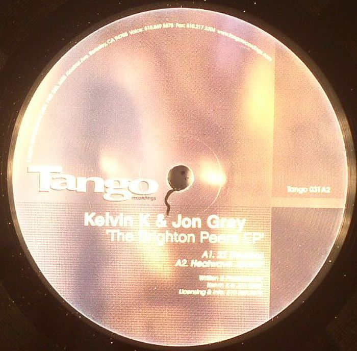 KELVIN K/JON GRAY - The Brighton Peers EP