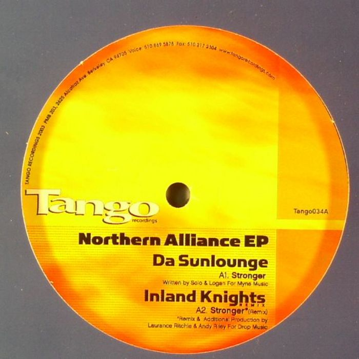 DA SUNLOUNGE/YOUNG GOVERNORS - Northern Alliance EP