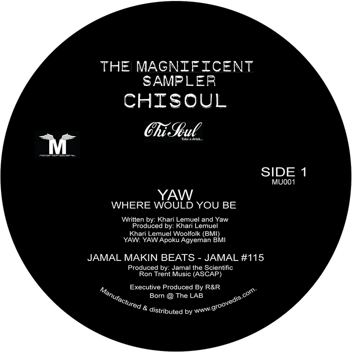 YAW/JAMAL MAKIN BEATS/JMB - Magnificent Sampler
