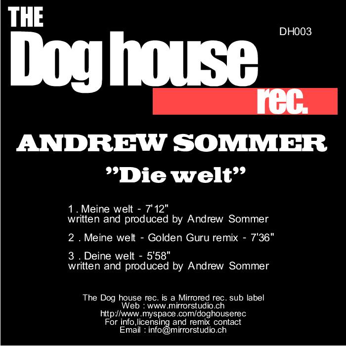 SOMMER, Andrew - Die Welt