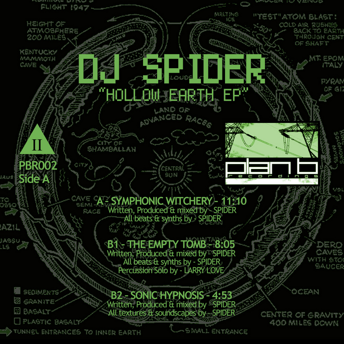 DJ SPIDER - Hollow Earth EP