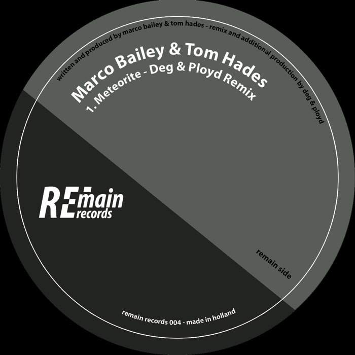 BAILEY, Marco/TOM HADES - Meteorite