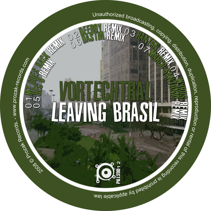 VORTECHTRAL - Leaving Brasil EP