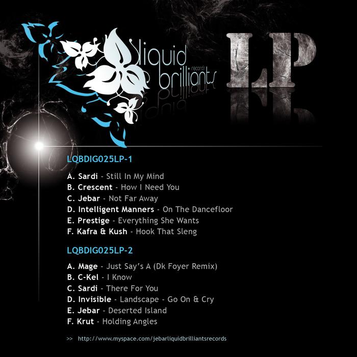 SARDI/CRESCENT/JEBAR/INTELLIGENT MANNERS/PRESTIGE/KAFRA/KUSH - Liquid Brilliants LP