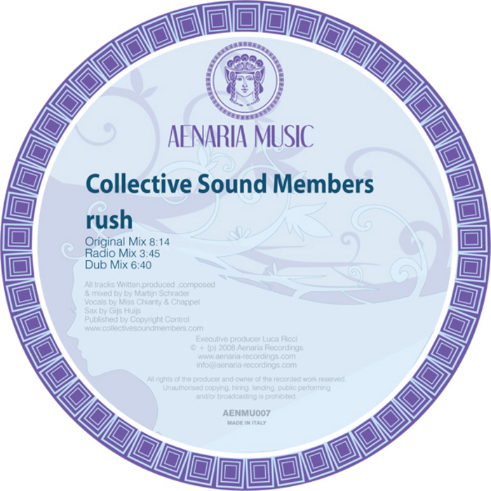 COLLECTIVE SOUND MEMBERS - Rush
