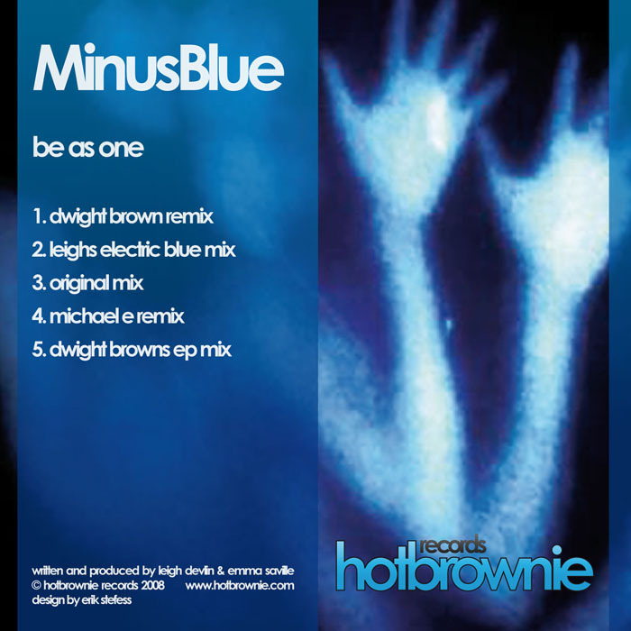 MINUS BLUE - Be As One