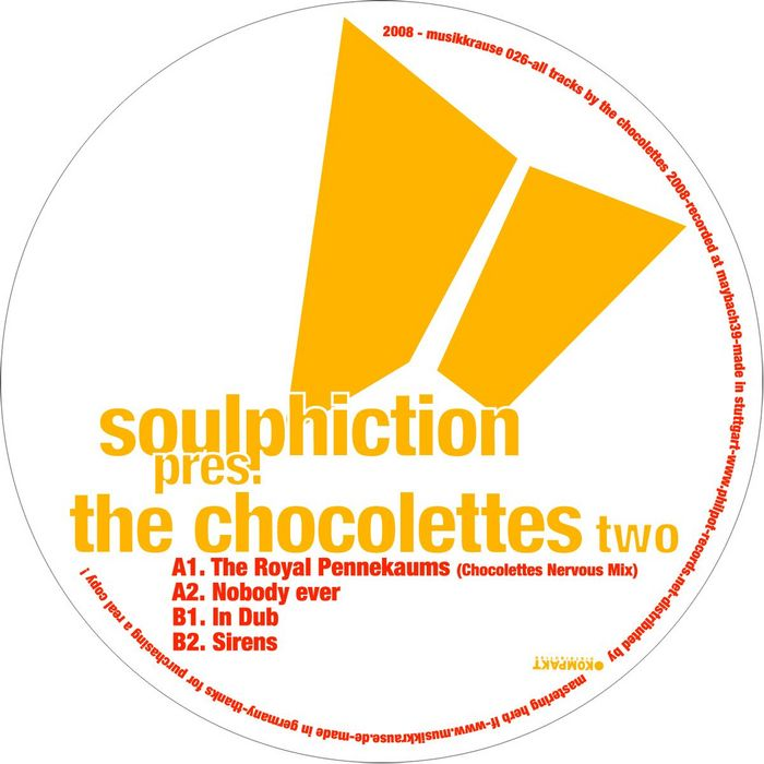 SOULPHICTION - Soulphiction Presents The Chocolettes Part 2