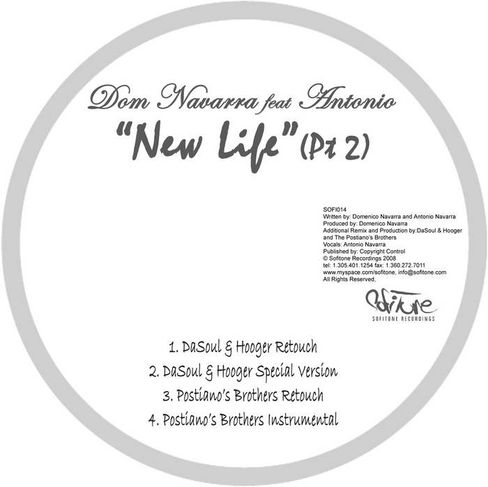 NAVARRA, Dom feat ANTONIO - New Life Part 2