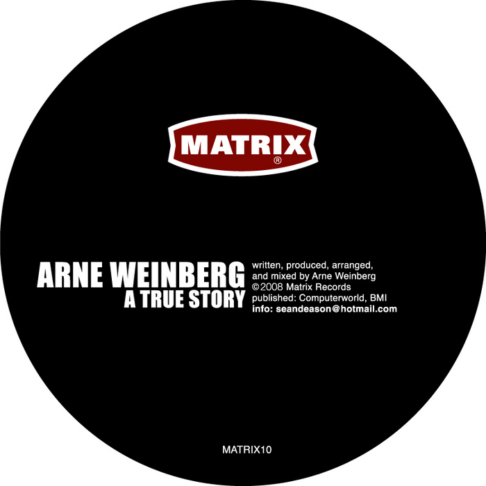 WEINBERG, Arne - A True Story