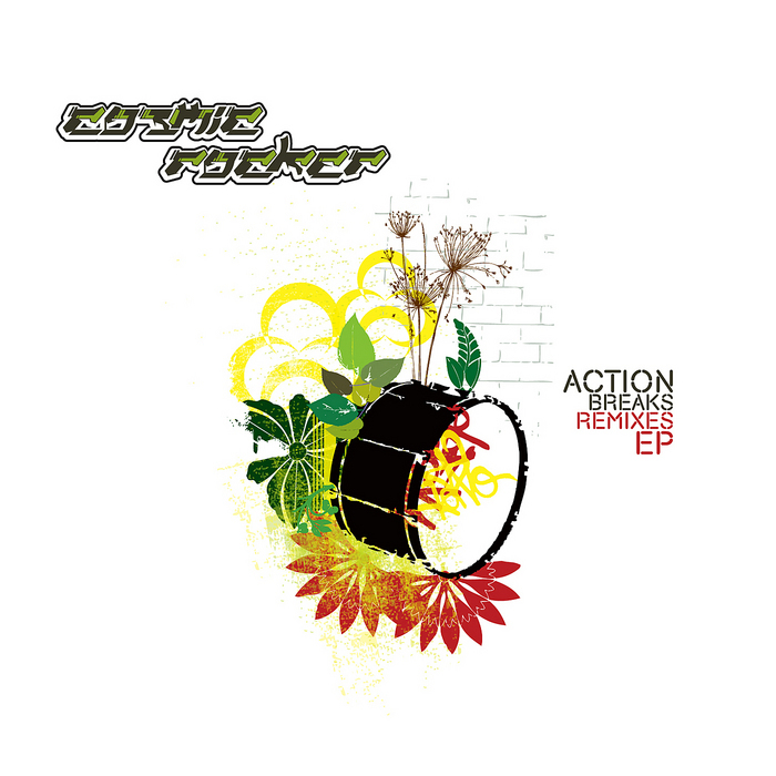 COSMIC ROCKER - Action Breaks (remixes) EP