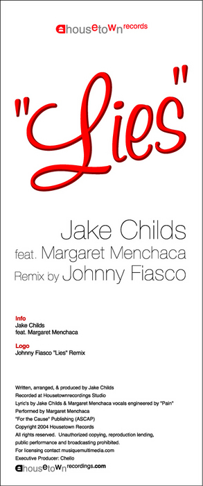 CHILDS, Jake feat MARGARET MENCHACA - Lies