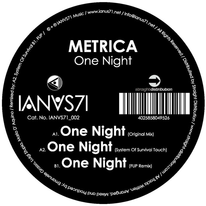 METRICA - One Night