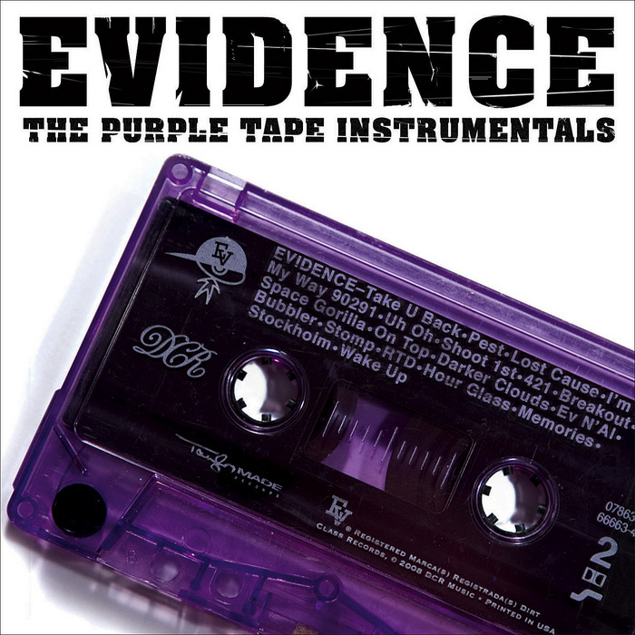 EVIDENCE - The Purple Tape - Instrumentals