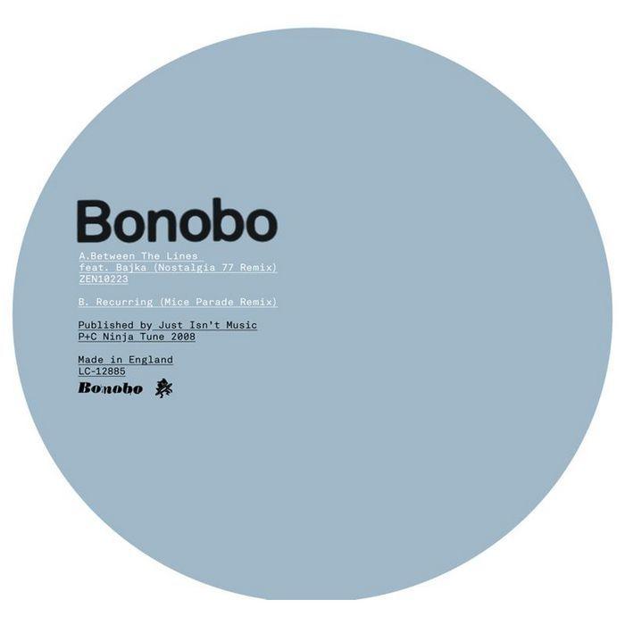 BONOBO - In Between/Recurring (remixes)
