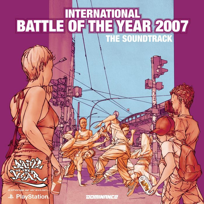 VARIOUS - International Battle Of The Year 2007 - The Soundtrack