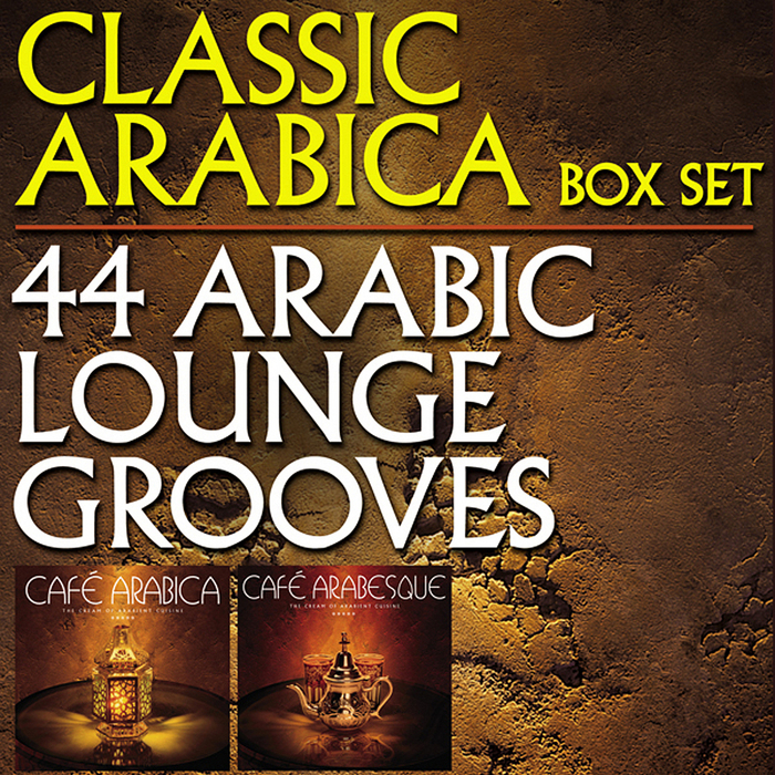 VARIOUS - Classic Arabica Box Set: 44 Arabic Lounge Grooves