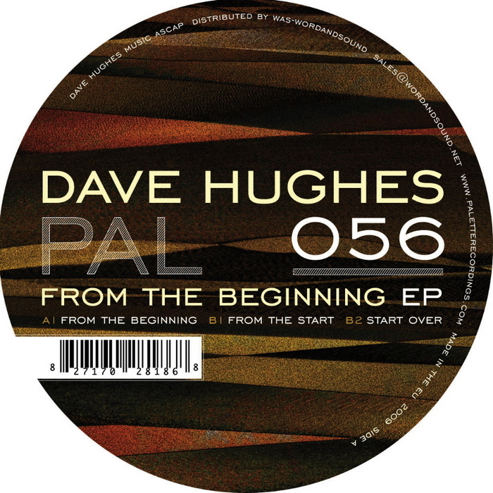 HUGHES, Dave - From The Beginning EP