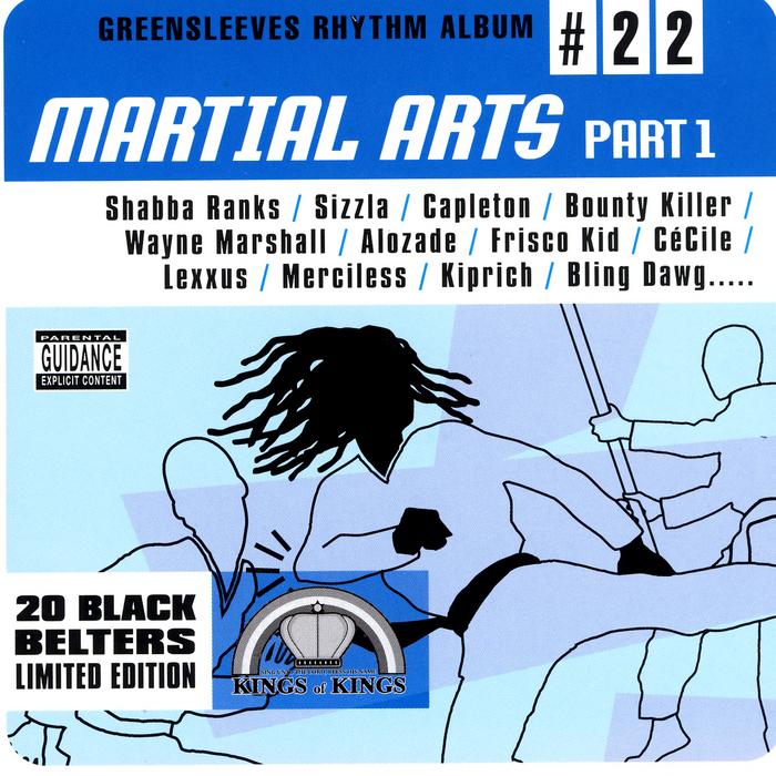 VARIOUS - Martial Arts Riddim: Part 1
