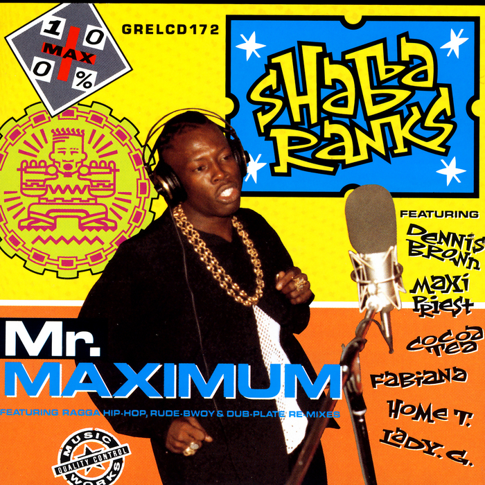 RANKS, Shabba - Mr Maximum