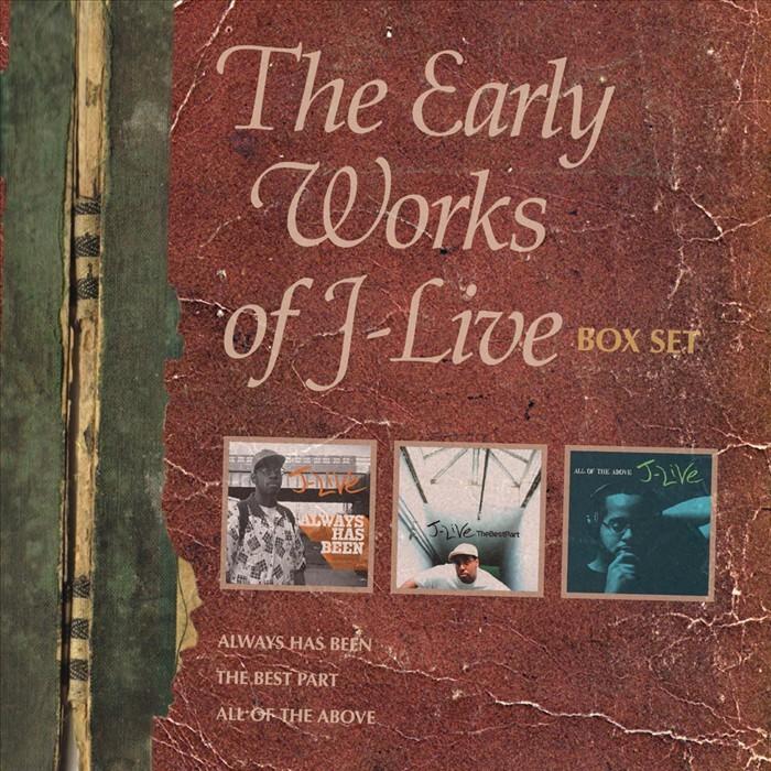 J LIVE - The Early Works Of J Live (Box Set)