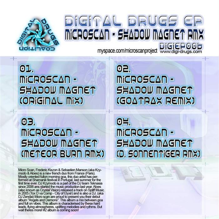 MICROSCAN - Shadow Magnet EP