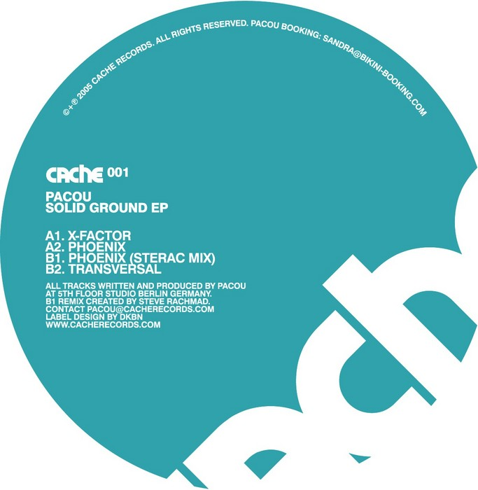 PACOU - Solid Ground EP