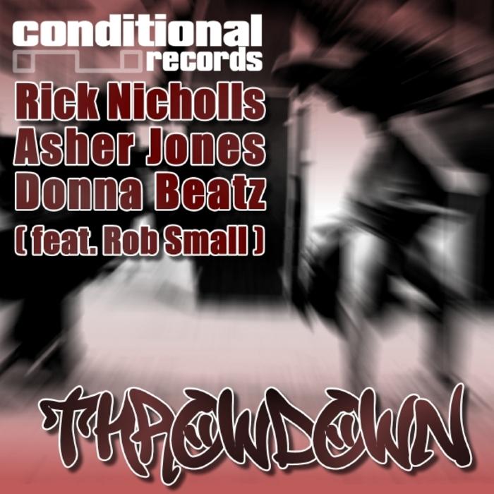 NICHOLLS, RICK/ASHER JONES/DONNA BEATZ - Throwdown EP
