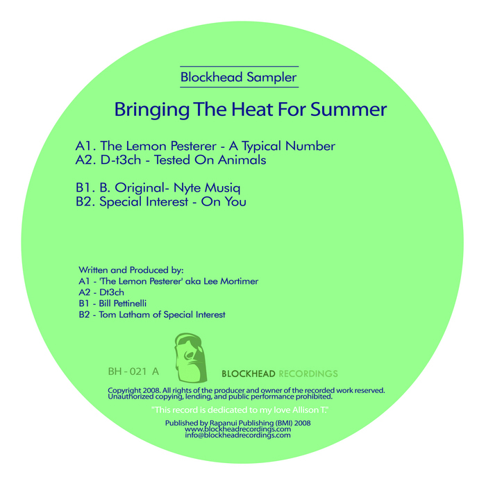Bringing The Heat For Summer by The Lemon Pesterer/D T3ch/B