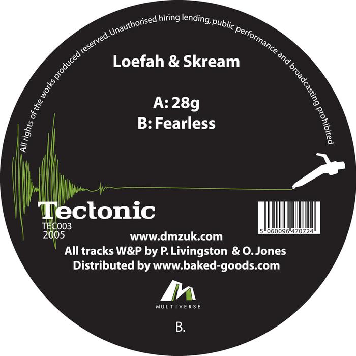 LOEFAH/SKREAM - 28 Grams/Fearless