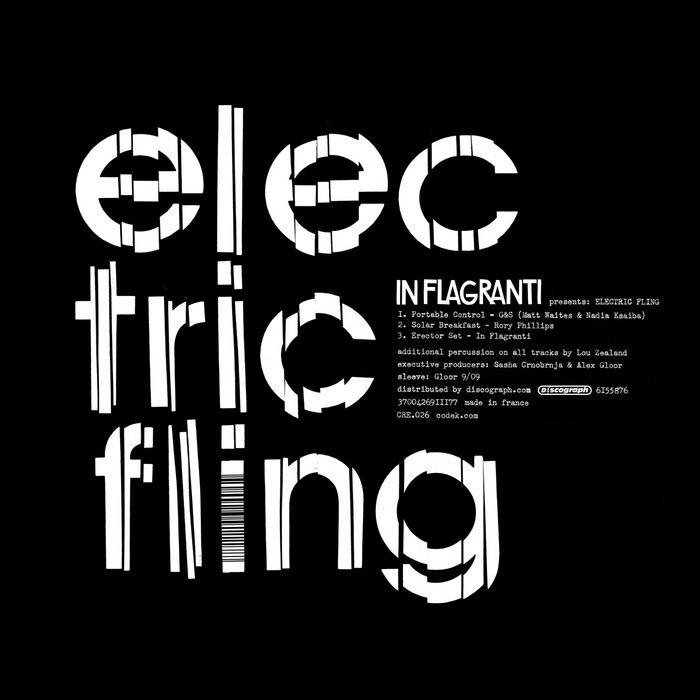 G & S/RORY PHILLIPS/IN FLAGRANTI - Electric Fling