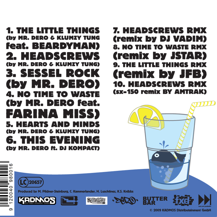 MR DERO & KLUMZY TUNG - The Little Things