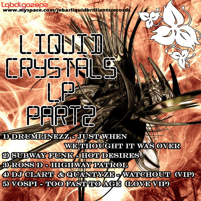 DRUMLINEZZ/SUBWAY FUNK/ROSS D/QUANTYZE & GYR8 & DJ CLART/VOSPI - Liquid Crystals LP Part 2