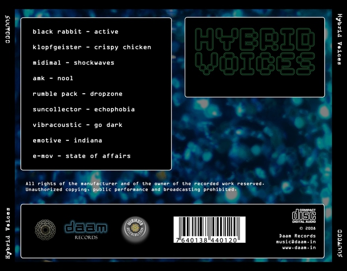 VARIOUS - Hybrid Voices