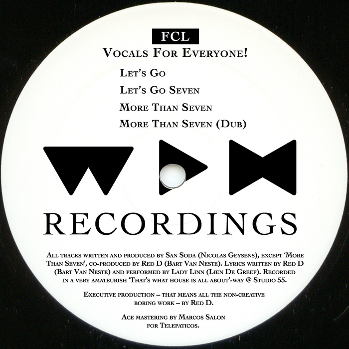 FCL - Vocals For Everyone EP