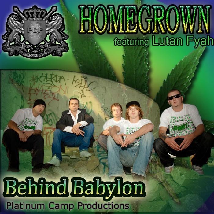 HOMEGROWN feat LUTAN FYAH - Save The Brainforest