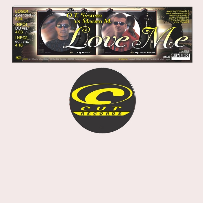 O T SYSTEM/MAURO M - Love Me
