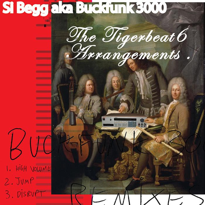 KANJI KINETIC - Si Begg aka Buckfunk 3000: The Tigerbeat6 Arrangements