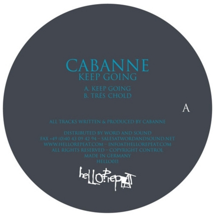 CABANNE - Keep Going