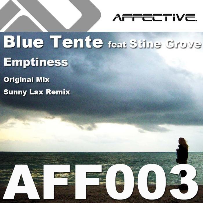 BLUE TENTE feat STINE GROVE - Emptiness