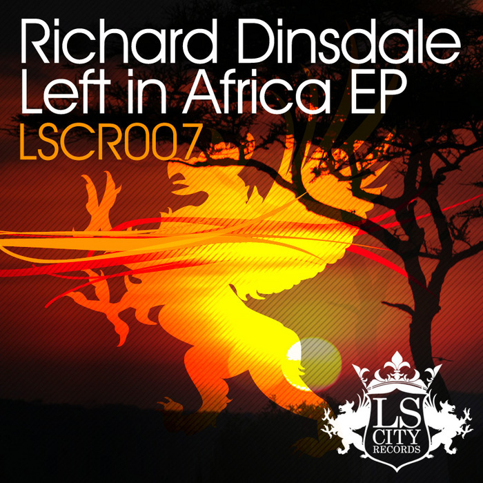 DINSDALE, Richard - Left In Africa EP