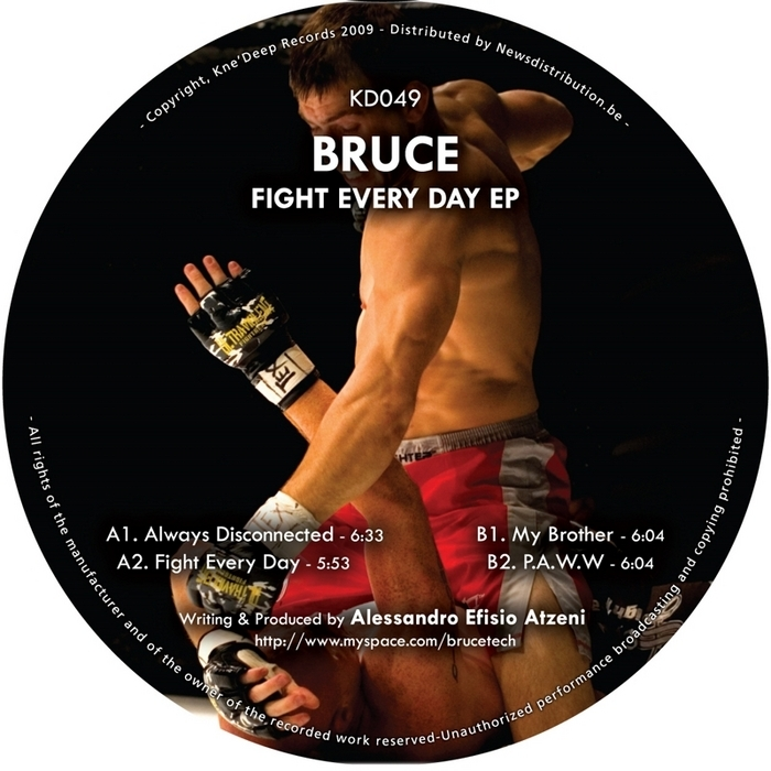 BRUCE - Fight Every Day EP