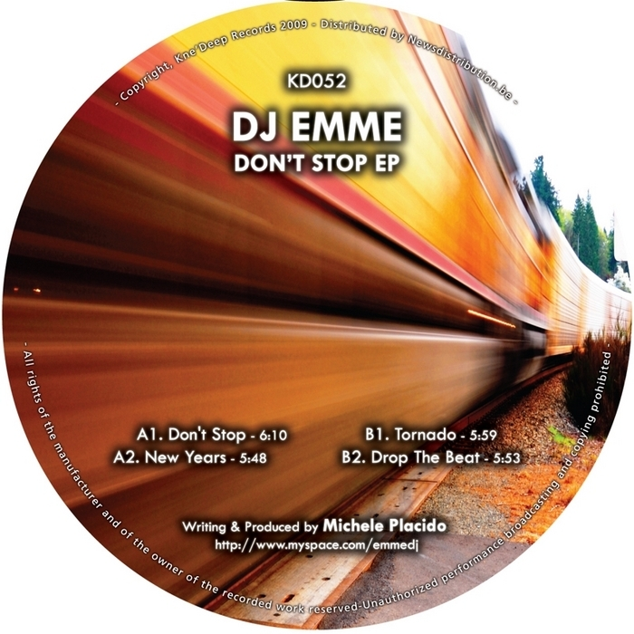 DJ EMME - Don't Stop EP