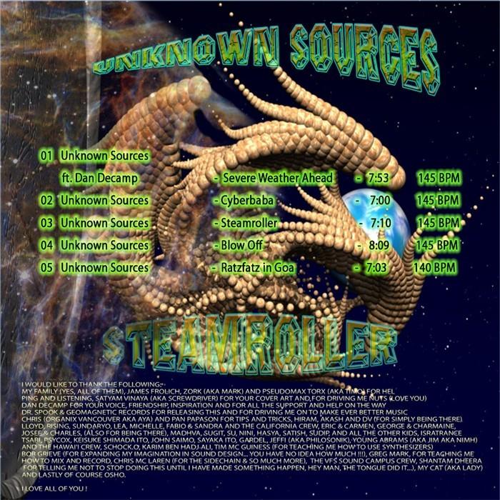 UNKNOWN SOURCES - Upavas: Steam Roller EP