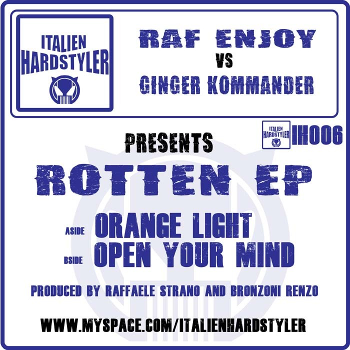 ENJOY, Raf vs GINGER KOMMANDER - Rotten EP