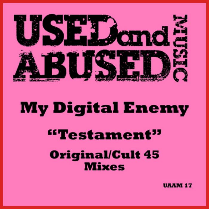 MY DIGITAL ENEMY - Testament